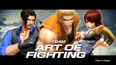 Il team Art Of Fighting si mostra su The King of Fighters XIV