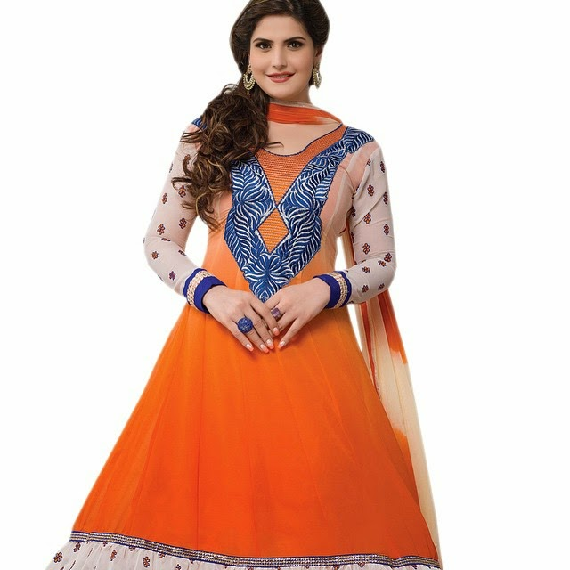 zarine khan , designer , ana rk ali , suit , ana rk ali ,suit z ohr a , on-line , shopping ,, Zarine Khan Hot Pics From Indian Clothing Catalogue