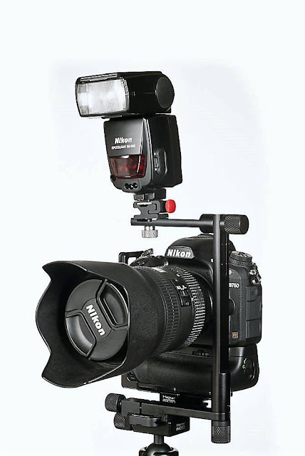 Hejnar FB87B Flash Bracket on nodal slide