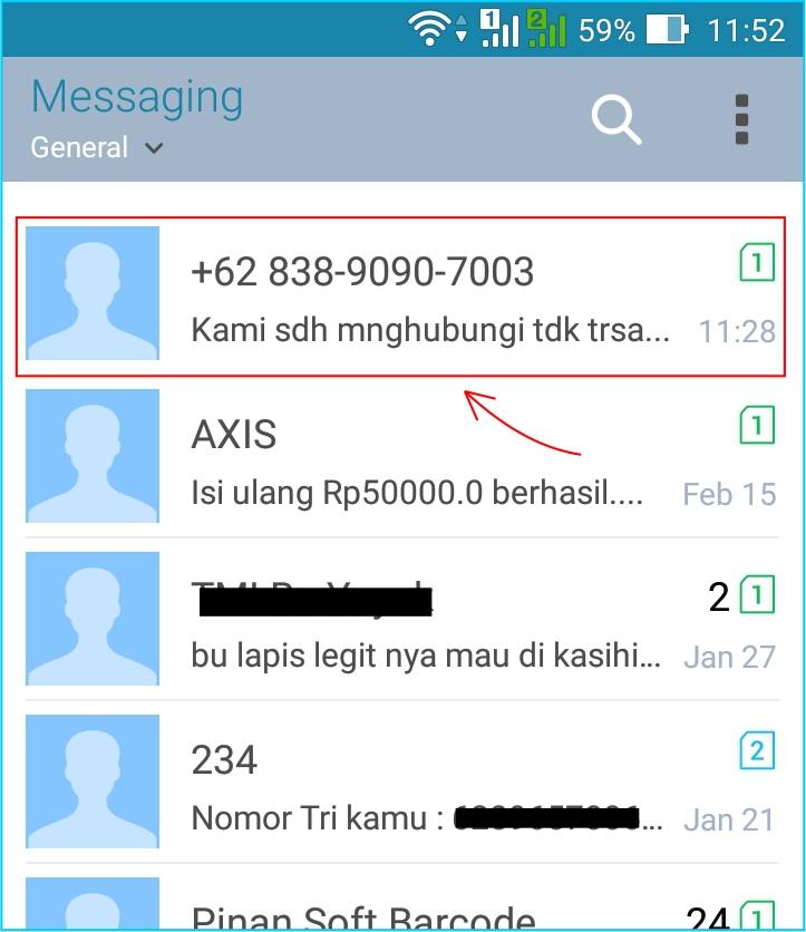 Hindari Sms Penipuan Begini Cara Blok Nomor Handphone Di Android