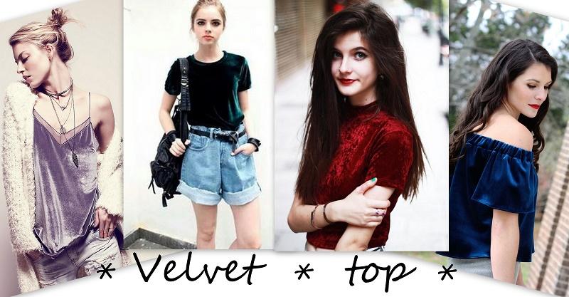 velvet top trend