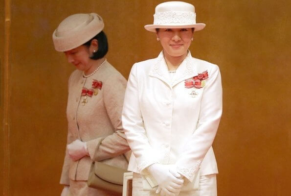 Empress Masako of Japan, Crown Princess Kiko, Princess Hanako, Princess Nobuko and Princess Hisako