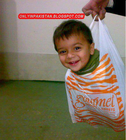 Funny Pakistani Baby Photo