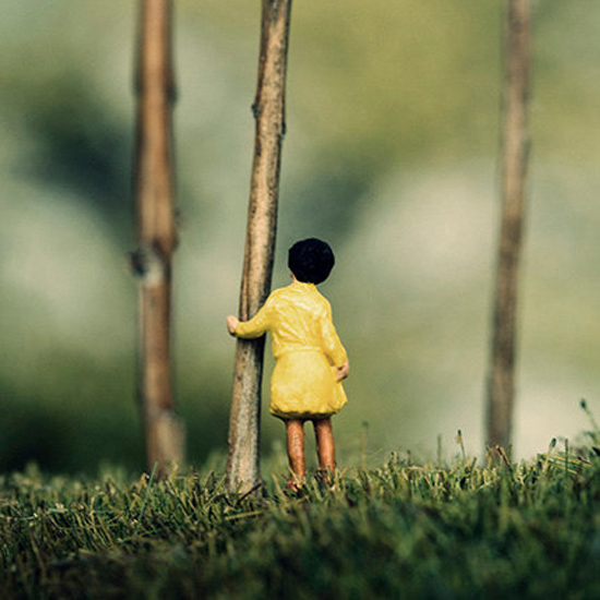 Half Awake diorama photos by ©Erin Tyner #Etsy