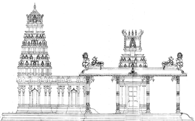 hindu Temple Construction