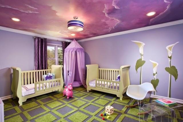 دهان غرف أطفال 2020 باللون الرصاصي