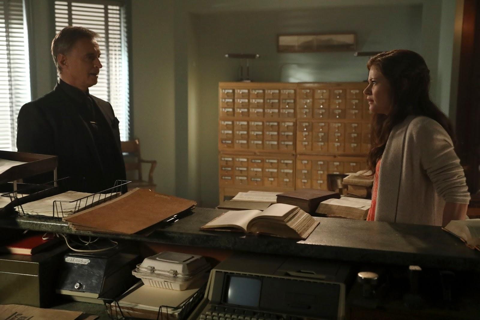 Once Upon a Time 6x09. Rumpelstiltskin amenaza a Bella con acelerar el embarazo