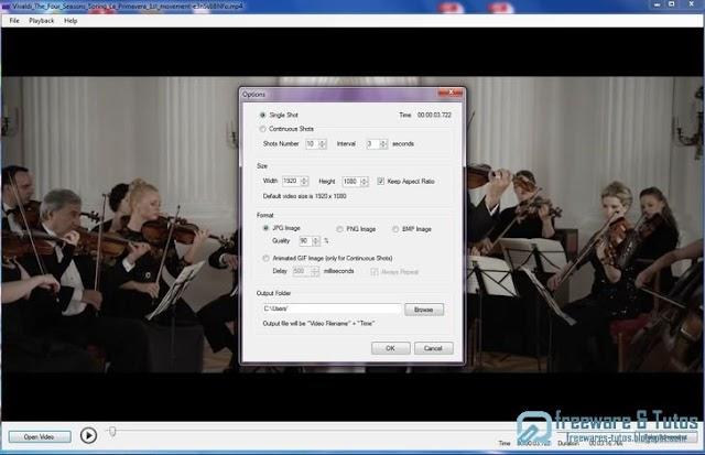 Video Screenshot : faire facilement des captures d'écran des vidéos