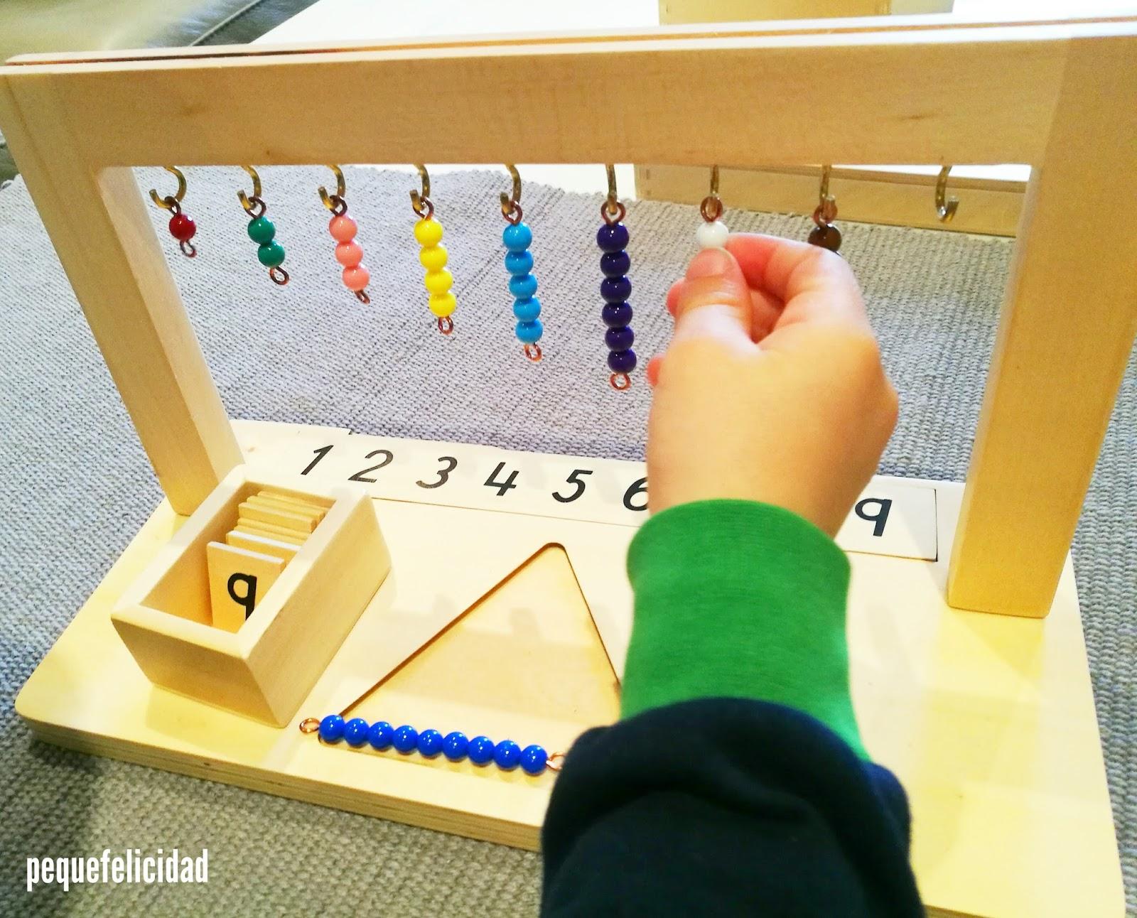 Pequefelicidad Matematicas Montessori Los Primeros Materiales