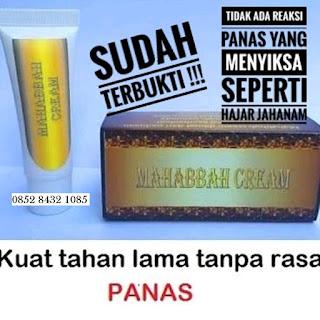 Jamu Obat Kuat Oles Tahan Lama Jelly Mahabbah Cream Asli Original