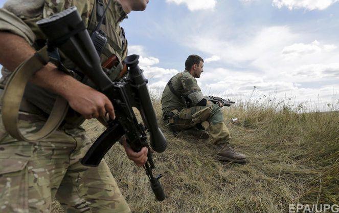 Російські бойовики поранили бійця ЗСУ