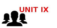 UNIT IX