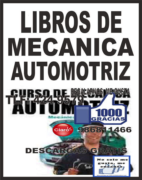Decida Triunfar: LIBROS DE MECANICA AUTOMOTRIZ GRATIS ... @tataya.com.mx 2020