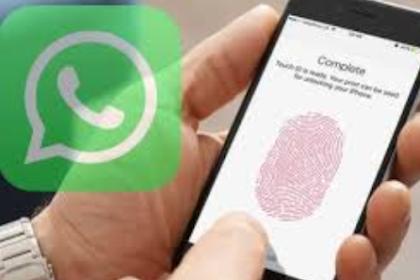Kunci Pakai Wajah Dan Sidik Jari, Whatsapp Tampil Dengan Fitur Baru