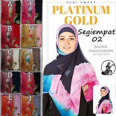 Segiempat Platinum Gold
