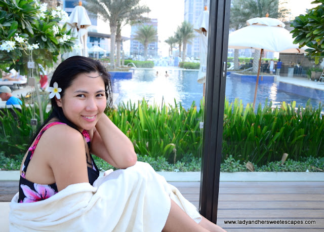 Lady at JW Marriott Marquis Dubai