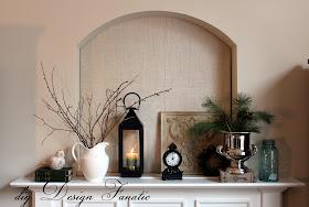 cottage, cottage style, farmhouse, farmhouse style, white pitcher, twig wreath, diy design fanatic.com