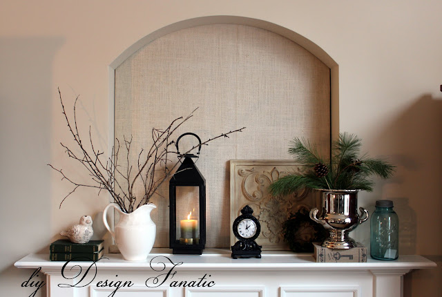 cottage, cottage style, farmhouse, farmhouse style, white pitcher, twig wreath, diy design fanatic.com