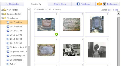 Olive Tree Genealogy Blog - Shutterfly Albums