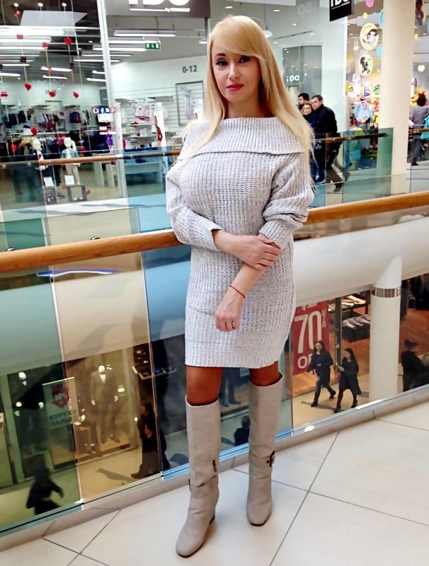 Shopping in Trendsgal: Платье-свитер с оголенными плечами Off-The-Shoulder Sweater Dress / обзор, отзывы