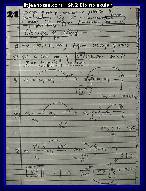 SN2 Biomolecular Org Notes10