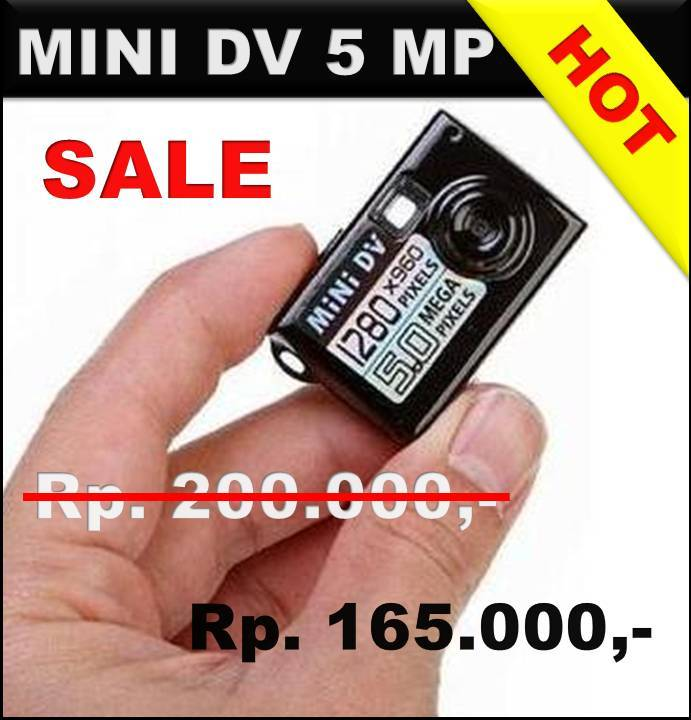 Spy Cam Mini DV 5MP