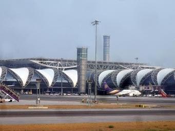 holidays need travel to Bangkok Airport Suvarnabhumi