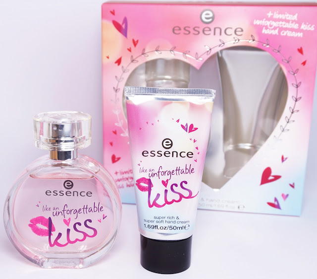 essence - like an unforgettable kiss (Geschenkset mit EdT & Handcreme)