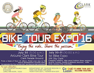 Source: PDOT. Poster for the Clark Bike Tour 2016.