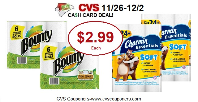 http://www.cvscouponers.com/2017/11/stock-up-pay-299-for-bounty-paper.html