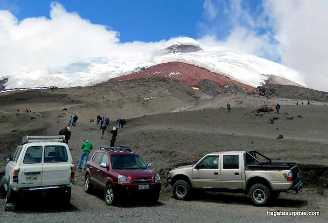 Base do Vulcão Cotopaxi, Equador