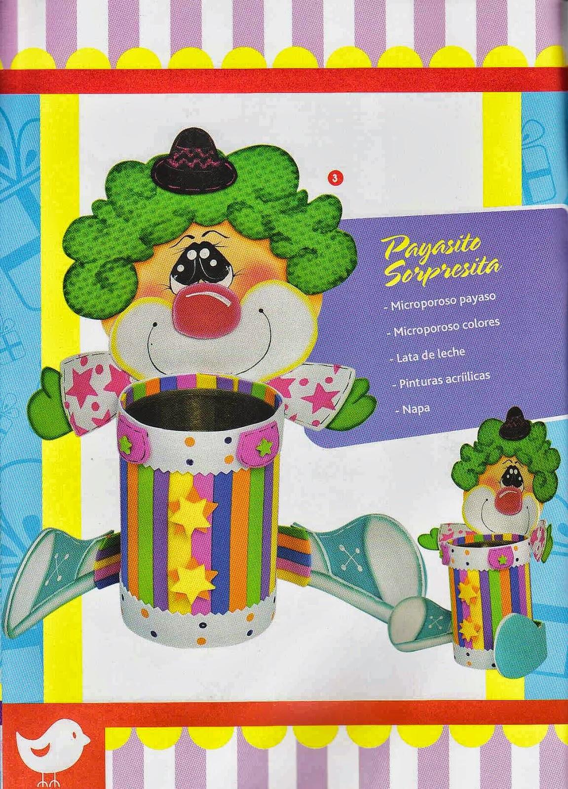 Manualidades en foamy paso a paso revistas de - Manualidades decoracion infantil ...