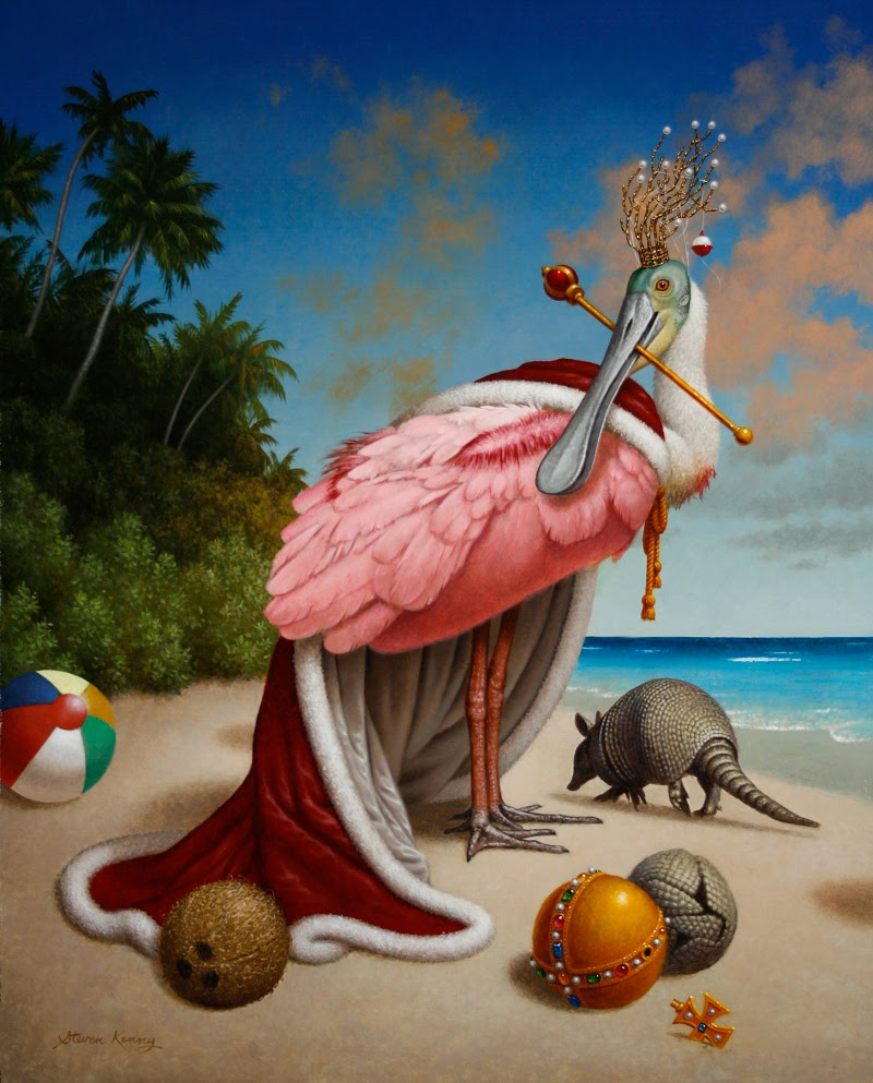 Surrealist Paintings by Steven Kenny.