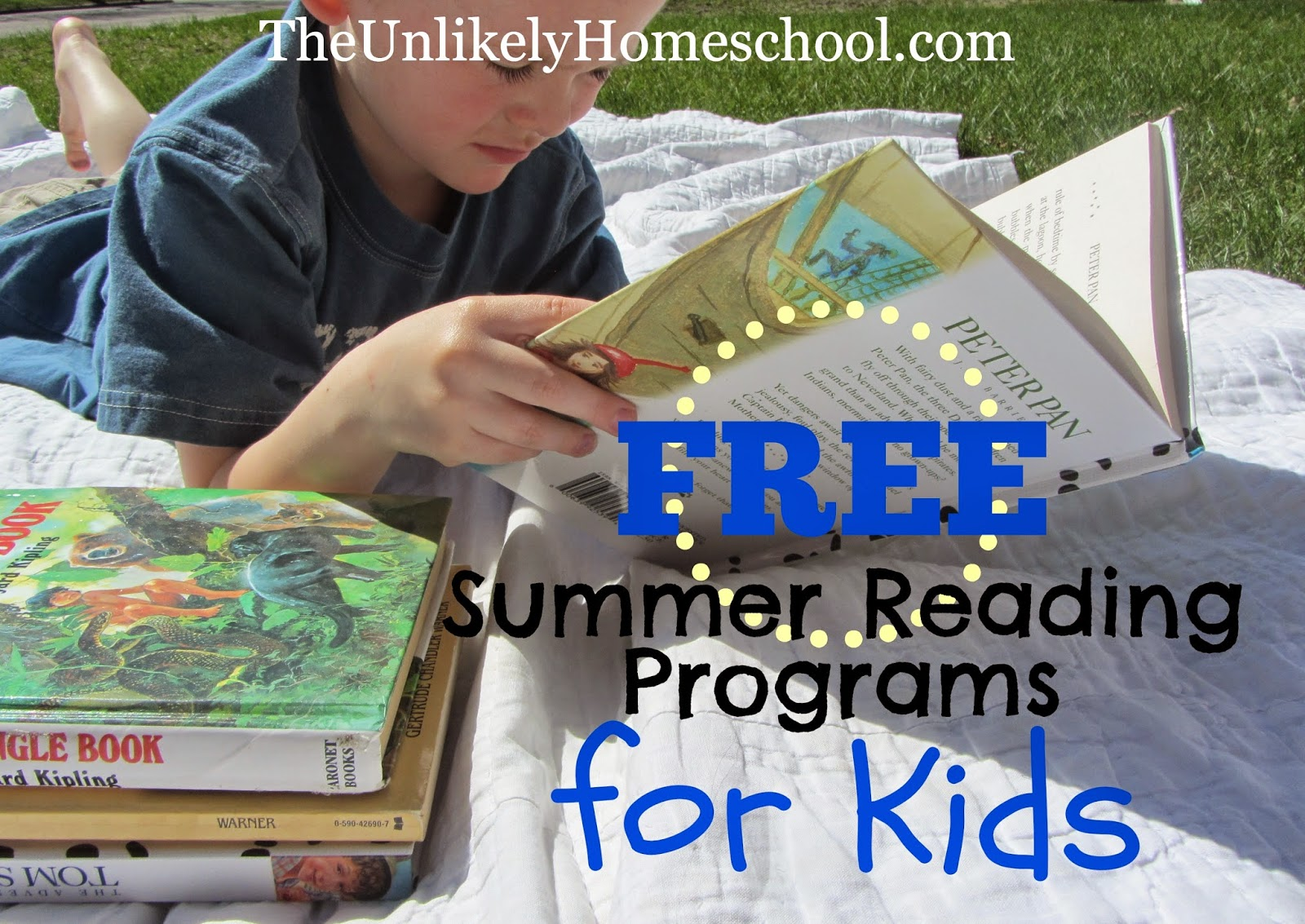 FREE Summer Reading Programs for Kids-The Unlikely Homeschool