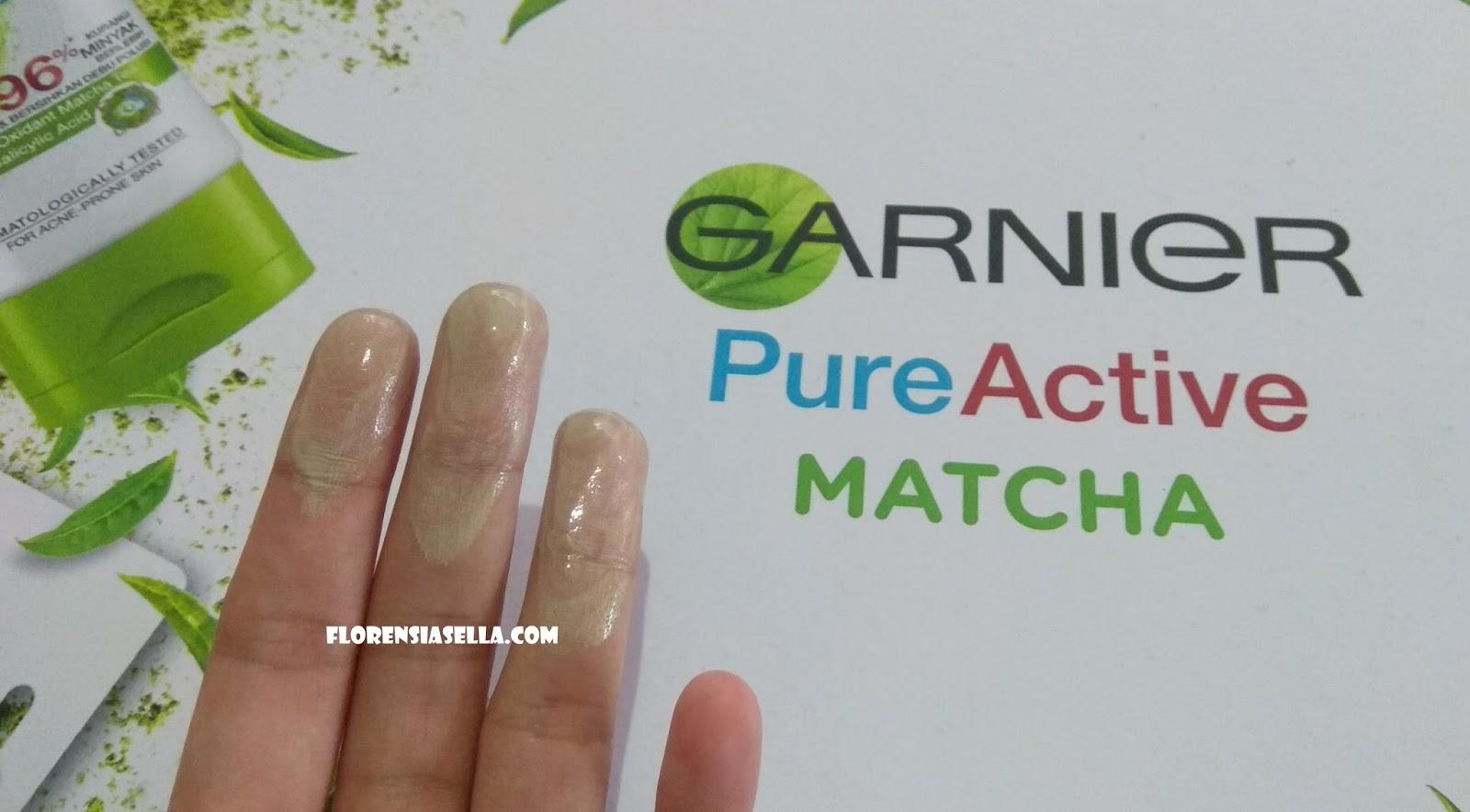 Garnier Pure Active Matcha Set Foam Masker Clay Daftar Harga Deep Clean 50ml Ini Adalah Tekstur Setelah Blackhead Pore Purifying Mask