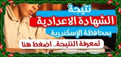 البوابة الالكترونية لمحافظة الاسكندرية -ظهرت نتيجة الصف الثالث الأعدادى الترم الثانى 2014