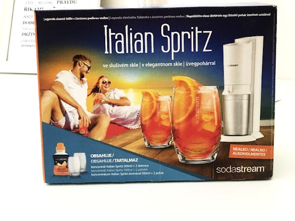 Prosluněná Itálie se SodaStreamem