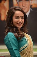 Tejaswi Madivada looks super cute in Saree at V care fund raising event COLORS ~  Exclusive 069.JPG