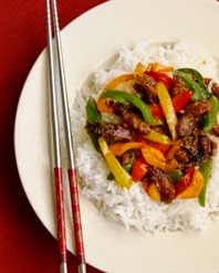 Chinese Beef and Bell peppers