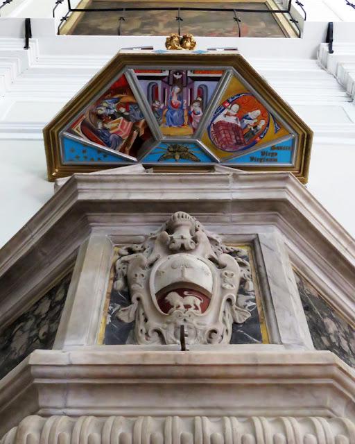 The pulpit, church of the Madonna, Via della Madonna, Livorno