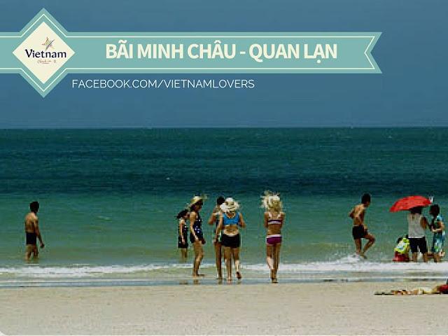 Bãi Minh Châu-quan lại