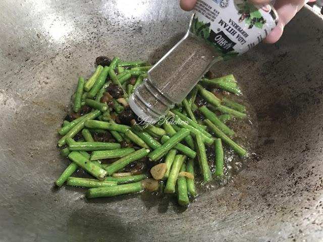 Kerang Goreng Kacang Panjang