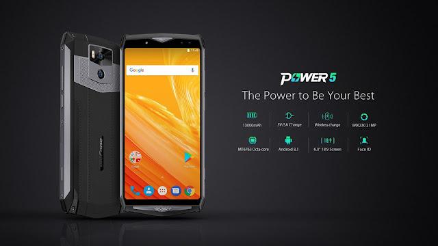 Ulefone Power 5 dengan Baterai 13000 mAh