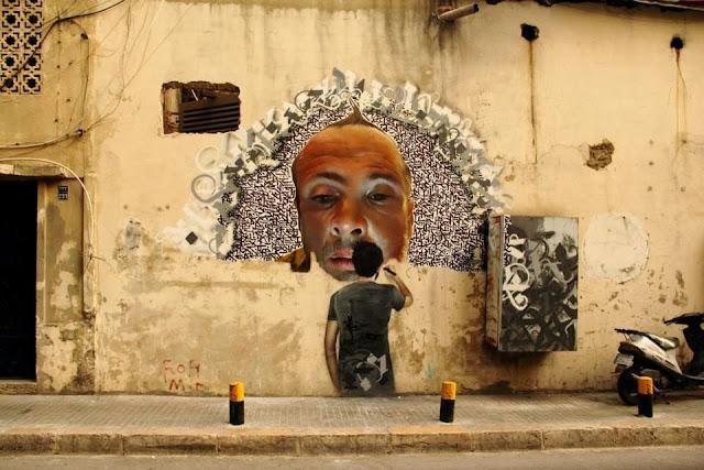 An Introduction To Street Art In Beirut Lebanon Streetartnews Streetartnews
