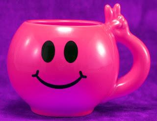 Pink Smiley Mug