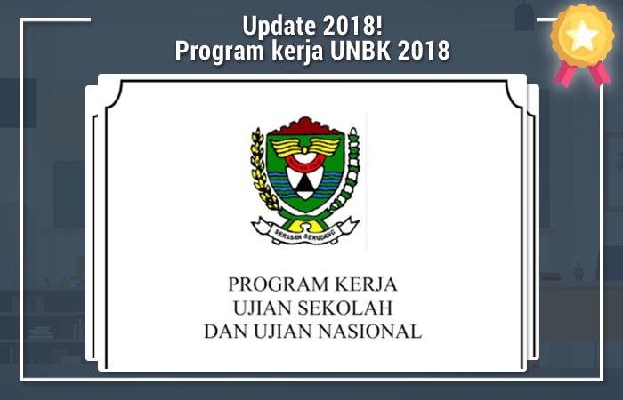Program Kerja UNBK 2018