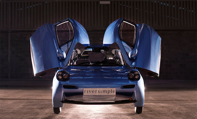 Riversimple Rasa front view