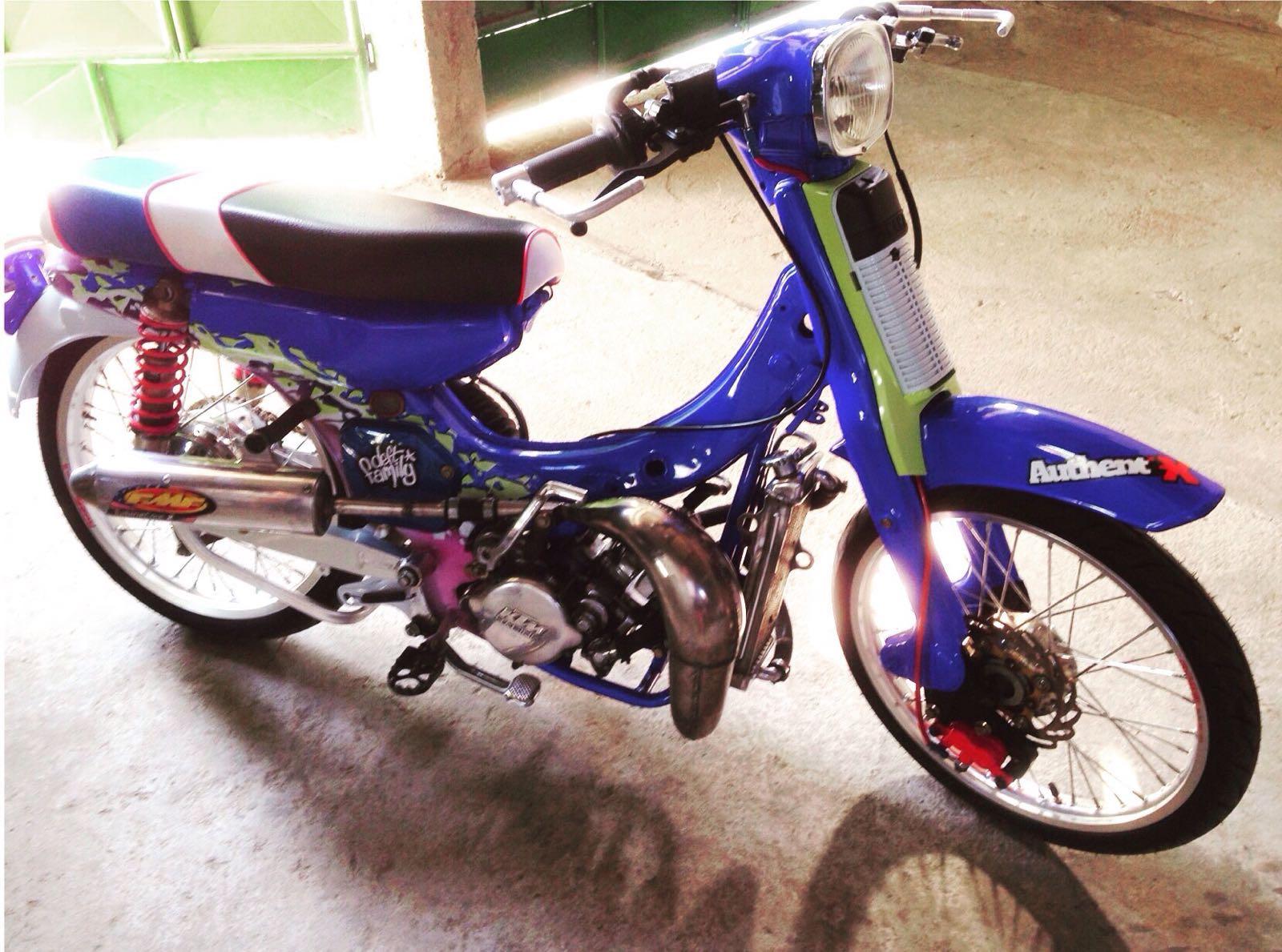 Ide 52 Modifikasi Motor Yamaha V75 Terunik Sumped Motor