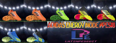 PES 2018 / PES 2017 Adidas Energy Mode Pack 2018 by LPE09