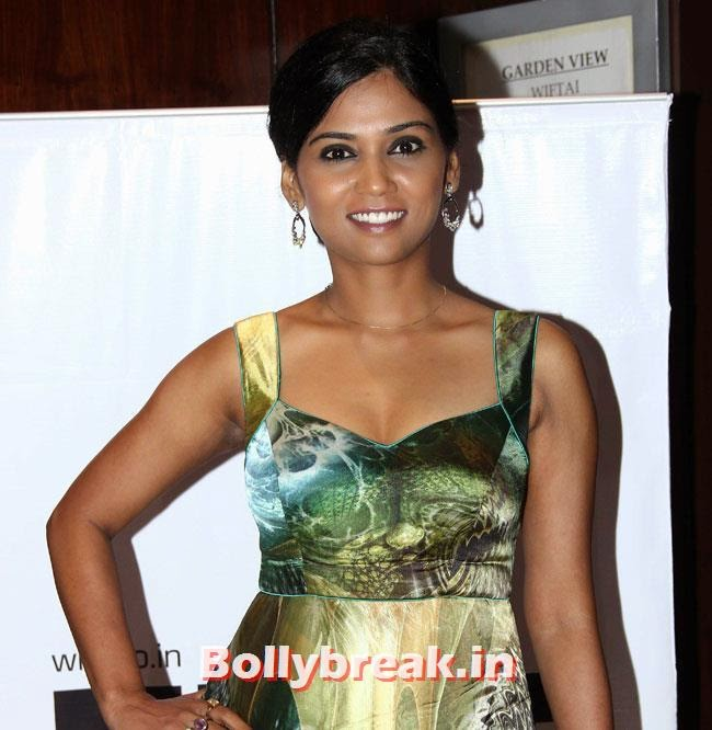 Usha Jadhav, Pallavi Sharda, Masumeh Makhija at WIFT National Women Achievers Awards 2014